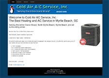 cold air ac service inc