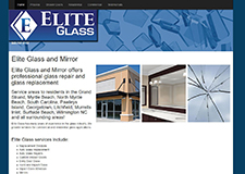 elite glass mirror