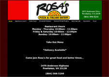 rosas pizza restaurant